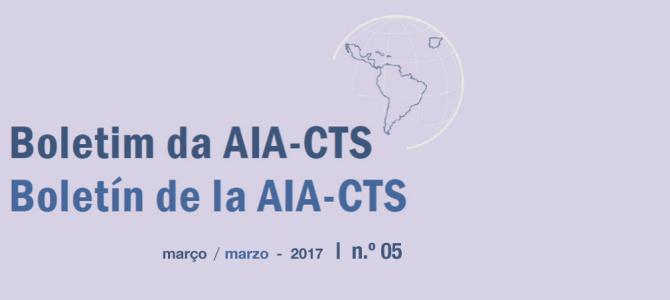 Boletim da AIA-CTS – Setiembre de 2016 | n.º04