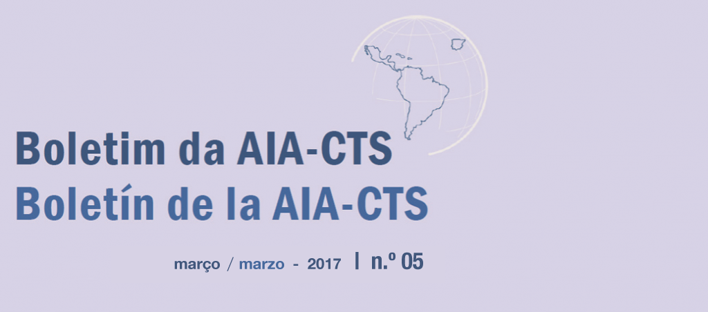 Boletim da AIA-CTS – Setembro de 2016 | n.º04
