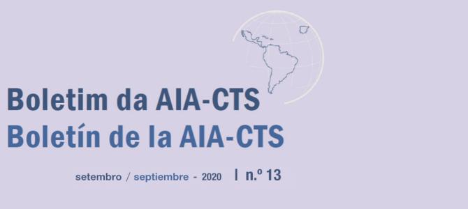 Boletín de la AIA-CTS – Septiembre de 2020 | n.º13