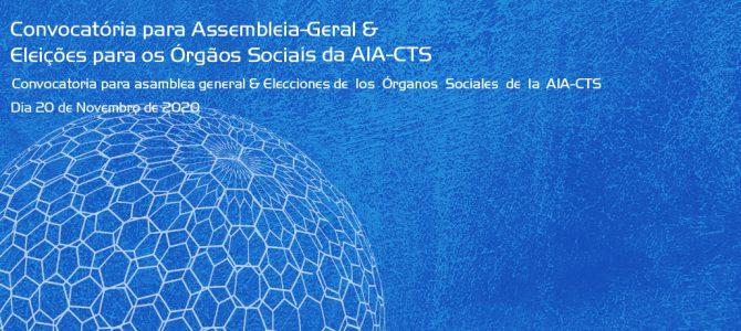 Eleições para os Órgãos Sociais da AIA-CTS 2020-2024